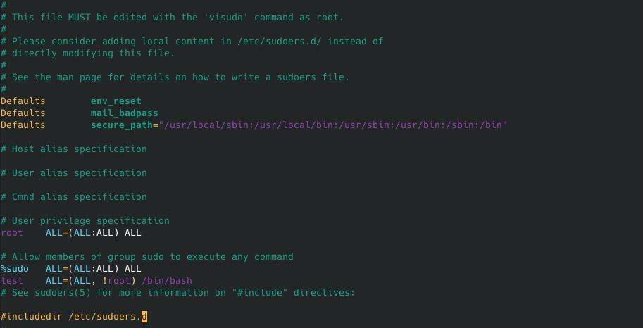 Linux Sudo 漏洞(CVE-2019-14287)分析